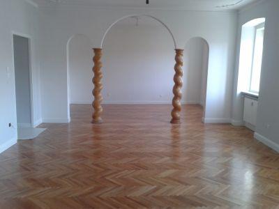 Restauro appartamento con parquet